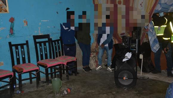 La Libertad: más de 100 jóvenes fueron intervenidos en una fiesta por Halloween (Foto: Municipalidad distrital de La Esperanza).