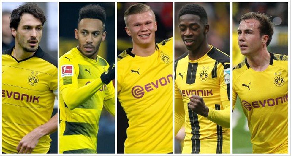 Las 20 ventas más caras en la historia de Borussia Dortmund. (Foto: AFP)