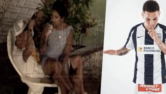 Jean Deza fue 'ampayado' en fiesta con Shirley Arica. (Captura de TV)