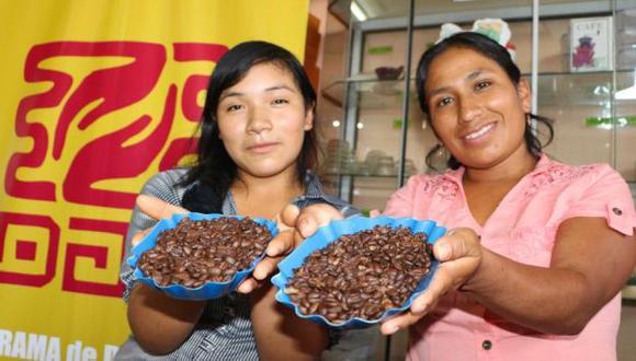 Más de 17 mil familias eligieron cultivar café en lugar de la hoja de coca, informó Devida. (Difusión)