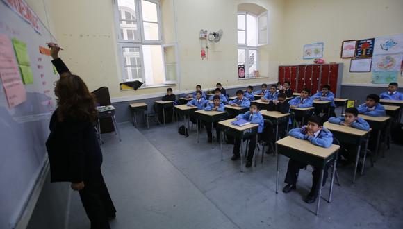 Docentes del sector público destituidos por delitos no podrán trabajar en colegios privados (Foto: Referencial/GEC)