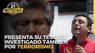 Bermejo propone testigo que también es investigado por terrorismo