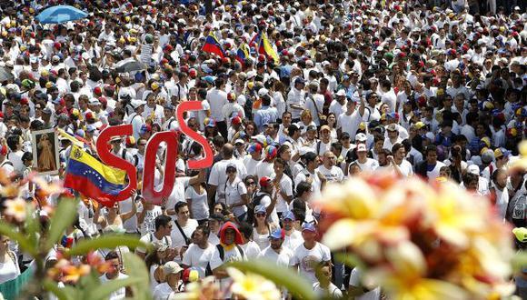 Venezuela vive una crisis política. (AFP)