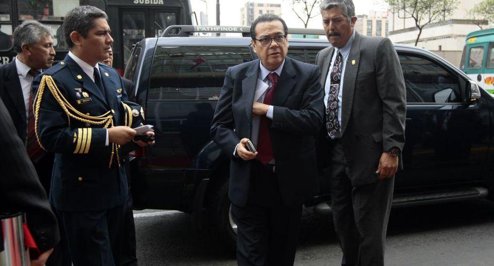 Enrique Mendoza, presidente del Poder Judicial. (David Vexelman)