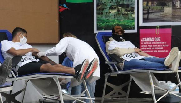 La donación de sangre es en beneficio de los pacientes del INEN. (Foto: Imagen referencial/Prensa UTC)