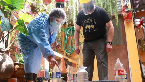 Las visitas a las casas serán informativas para prevenir el dengue. (Foto: Minsa)