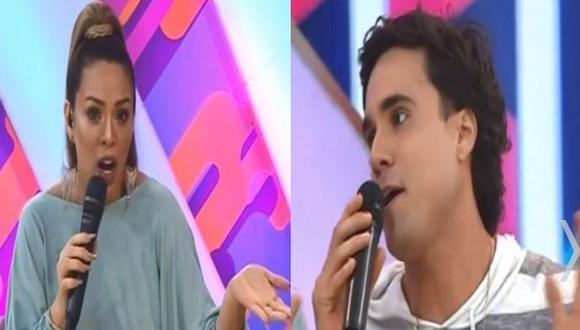 Sheyla Rojas hizo infidencia sobre Gino Assereto y pidió a Jazmín estar alerta sobre su pareja. (Composición)