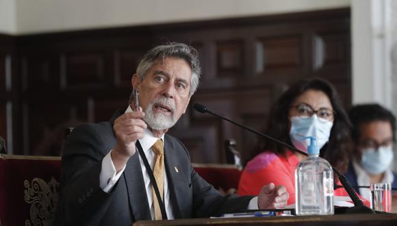 El presidente Francisco Sagasti anunció reunión del Consejo de Estado para este lunes 18 de enero. (Foto: Andina)