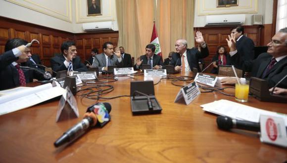 PUGNAS. Comisión Evaluadora no habría logrado un consenso entre los siete bloques políticos. (César Fajardo)
