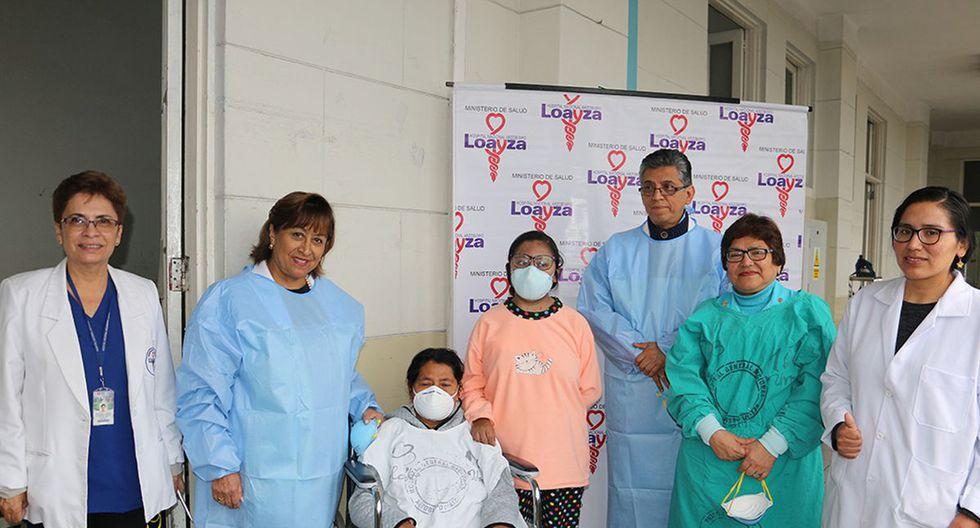 El trasplante de riñón se hizo en el hospital Arzobispo Loayza. (Ministerio de Salud)