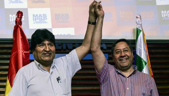 Luis Arce es el candidato elegido por Evo Morales. (RONALDO SCHEMIDT / AFP).