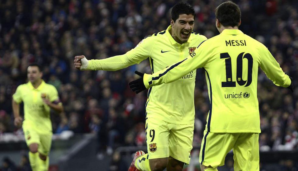 Barcelona apabulló 5-2 al Athletic de Bilbao y acerca al Real Madrid. (EFE)