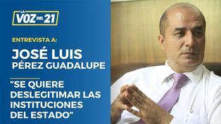 "José Luis Pérez Guadalupe sobre la guardia de Bellido:""Es una afrenta a la PNP"""