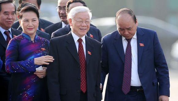 Nguyen Phu Trong nació en 1944 en Hanoi, fue jefe del Partido en la capital vietnamita entre 2000 y 2006, luego presidió la Asamblea Nacional y fue nombrado secretario general del Partido en 2011. (Foto: EFE)