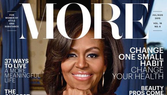 Michelle Obama revisó y aprobó todos los artículos de la revista. (More)