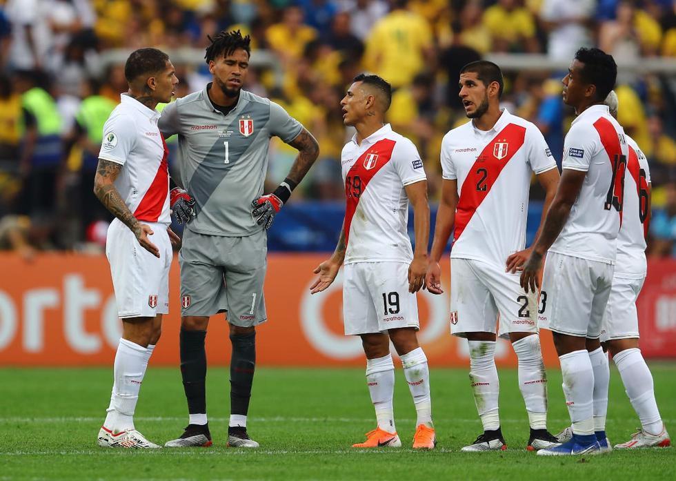 Perú fue humillado 5-0 por Brasil en la Copa América y espera otros resultados para su clasificación