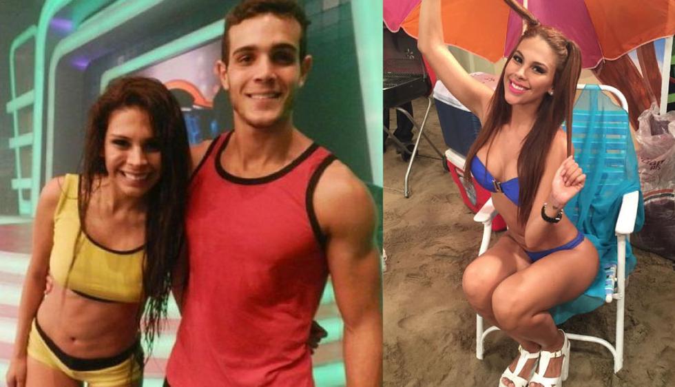 Con Stephanie Valenzuela vivió una relación intensa cuando ambos estuvieron en 'Combate'. (Foto: Composición)