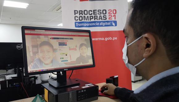 Desde octubre empieza registro para Proceso de Compras Electrónico 2021 de Qali Warma (Foto: Midis)
