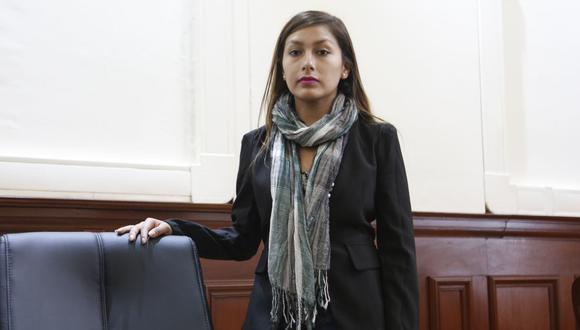 Arlette Contreras busca justicia para su caso. (GEC)