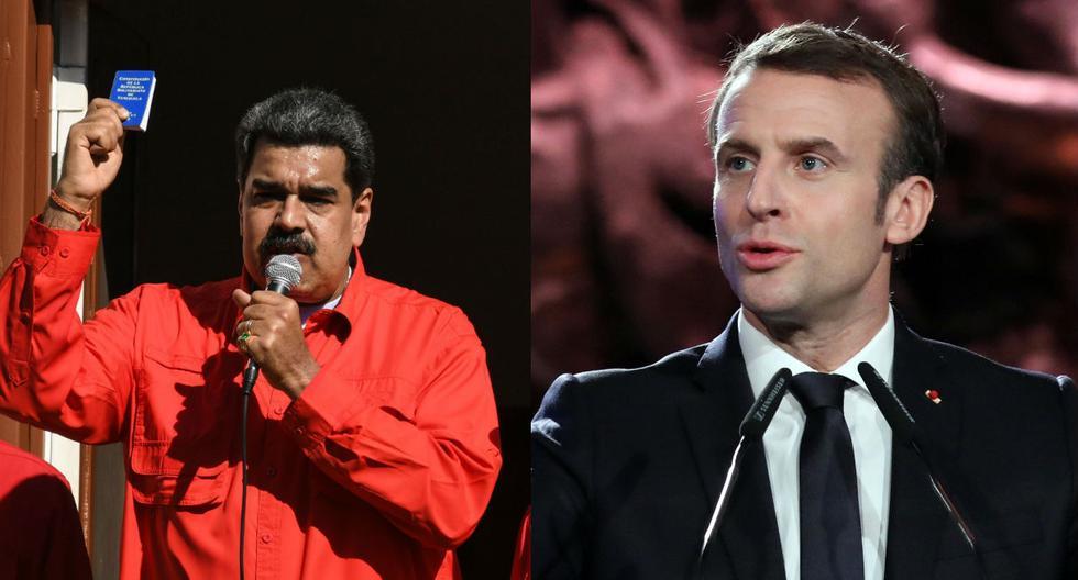 Francia ya había reconocido a Guaidó como presidente encargado de Venezuela. (Foto: EFE / AFP)
