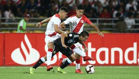 La selección peruana sub 17 enfrentará a Chile en la segunda fecha del hexagonal final. (Foto: Jesús Saucedo)