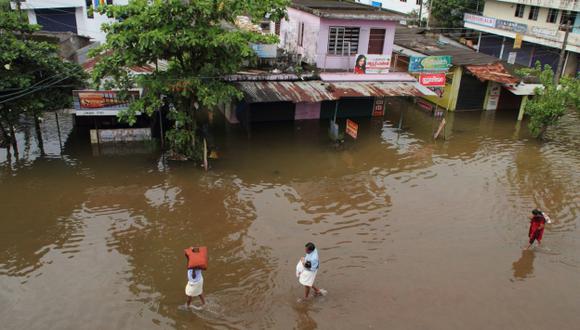 En Perú, el fenómeno El Niño ocasionó fuertes inundaciones. (USI)