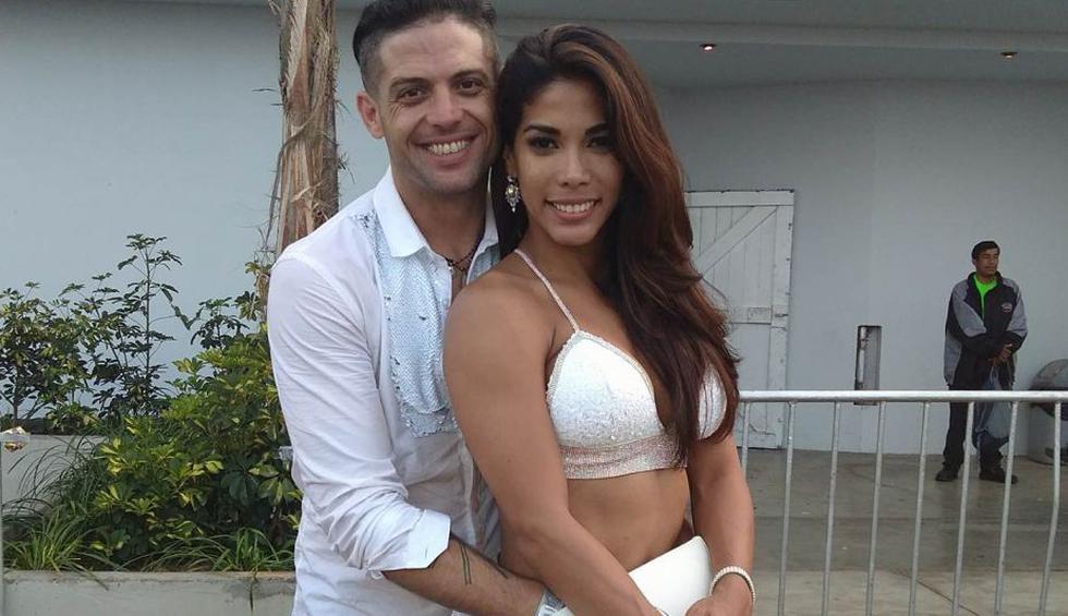 Karen Dejo y Lucas Piro