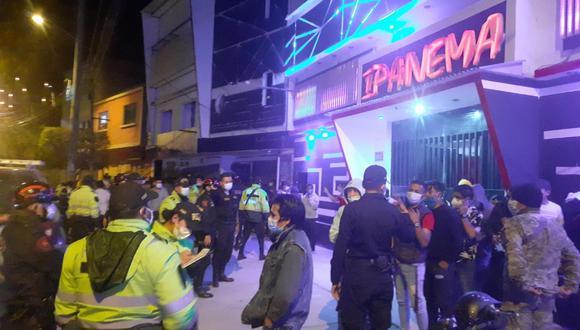 Huánuco: vecinos de la zona denunciaron que el establecimiento nocturno funcionaba algunos fines de semana con normalidad. (Foto: Municipalidad Provincial de Huánuco)