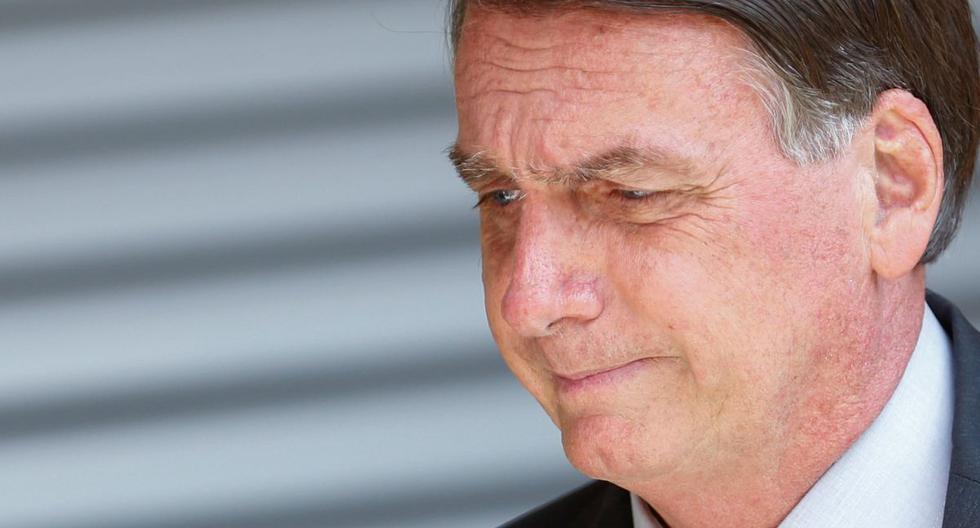 El presidente de Brasil, Jair Bolsonaro, es visto en medio de una ceremonia en Brasilia, Brasil, el 5 de abril de 2021. (REUTERS/Adriano Machado).