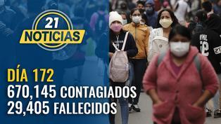 Casos confirmados por coronavirus ascienden a 670,145