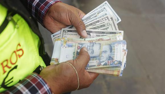 En el mercado paralelo o informal, el tipo de cambio se cotizaba a S/ 3.592 la venta y S/ 3.565 la compra. (Foto: GEC)