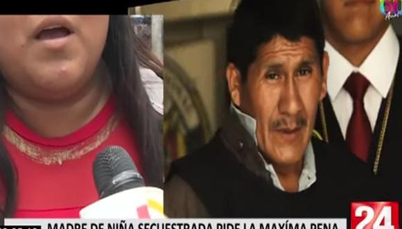 Julio Tito Quispe, conocido también como 'Monstruo de Carapongo', es el sujeto que secuestró a una niña de solo 6 años.