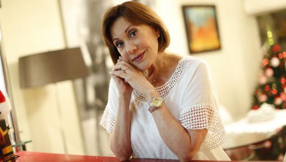 Yvonne Frayssinet, actriz. (Perú21/Cesar Fajardo)
