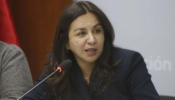 Marisol Espinoza ratificó su renuncia al PNP. (USI)