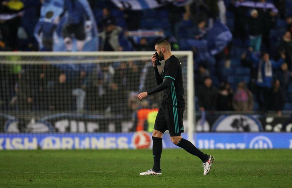 Real Madrid suma una nueva derrota en la Liga Española tras su visita al Espanyol. (REUTERS)