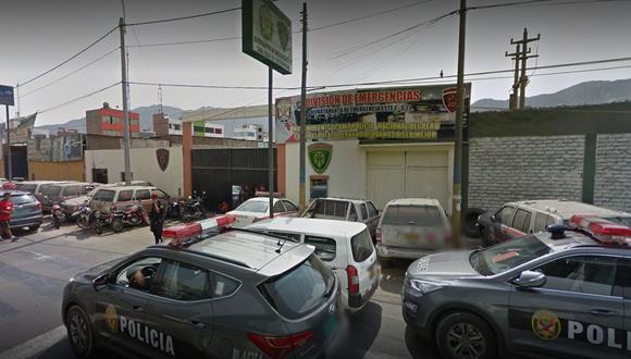 El lamentable hecho ocurrió en las instalaciones del Escuadrón de Emergencia Este. (Captura de GoogleMaps)