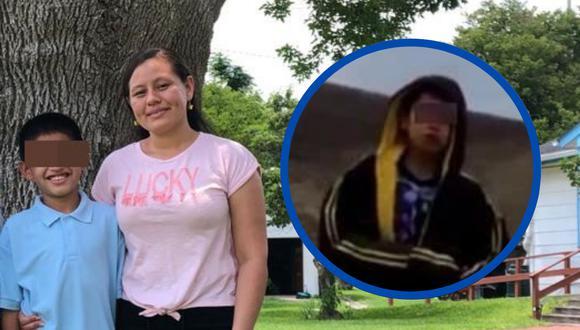 Un niño que fue grabado en un video viral pidiendo ayuda a un agente fronterizo finalmente se habría reencontrado con su madre, informan.   Crédito: La Posada Providencia / Facebook / @pedroultreras / Twitter