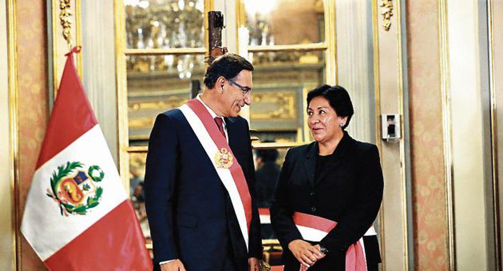 En el Ejecutivo mantienen a Susana Vilca con un perfil bajo. ¿Hasta cuándo?