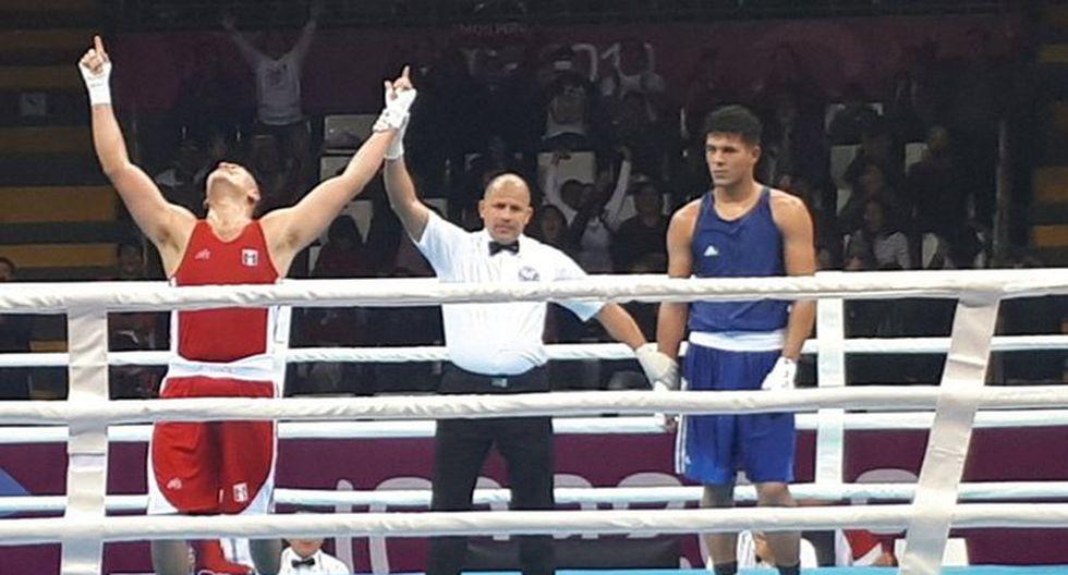 José Lucar consiguió clasificarse a la semifinal de boxeo. (Renzo Silva)