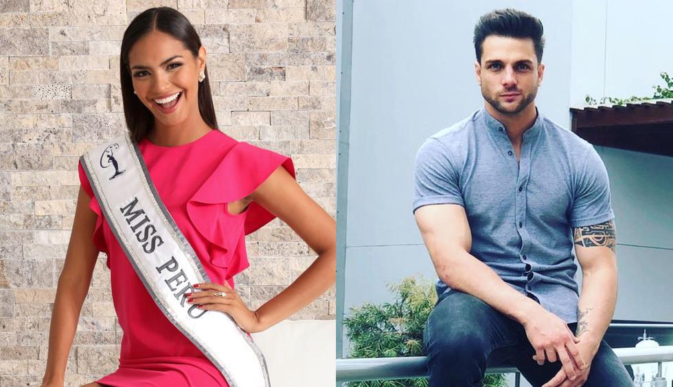La ex Miss Perú fue captada en una comprometedora situación con su expareja Oliver Silva. (Foto: Instagram)