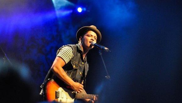 Bruno Mars donó US$1 millón a los afectados (Getty Images)