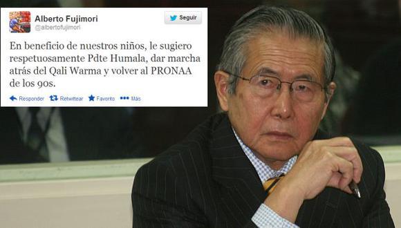 Alberto Fujimori sugiere regresar a programas sociales de los 90. (USI)