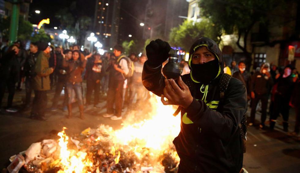 Protestas en Bolivia: Enfrentamientos en La Paz dejan al menos diez heridos, según Defensoría. (Foto: Reuters)