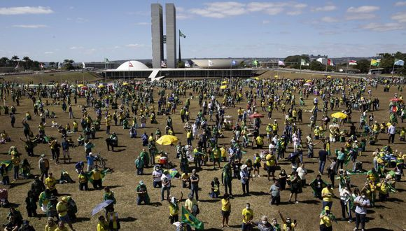 El banco central informó que la deuda bruta pública de Brasil fue de 6.1 billones de reales (unos US$ 1.1 billones). (Foto: AP)