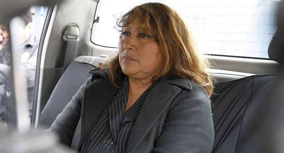 Mujer fue llevada al Penal de Mujeres de Chorrillos. (USI)