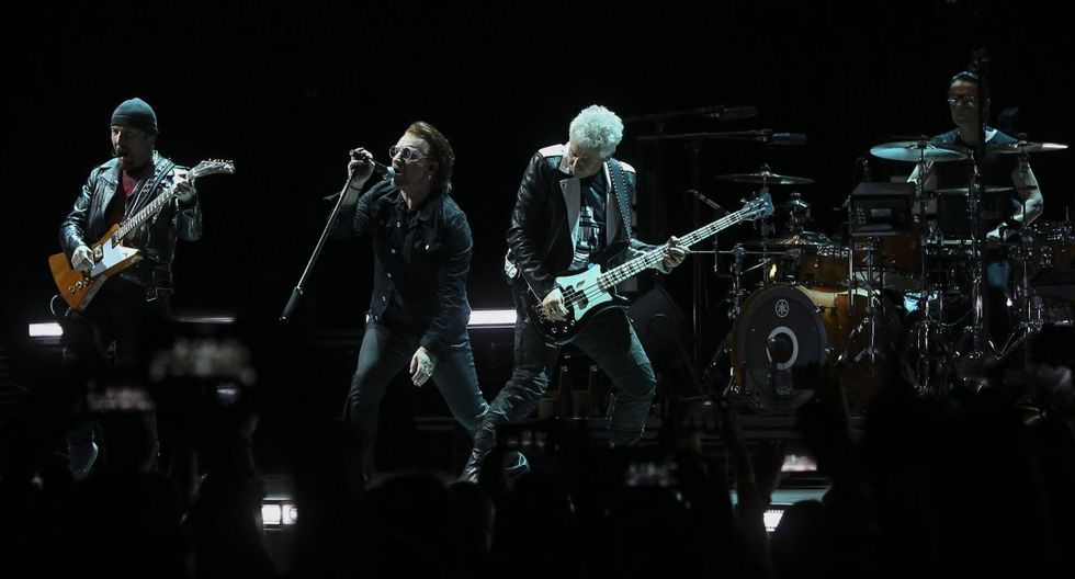 U2 recaudó US$118 millones.&nbsp;(Foto: EFE)<br>