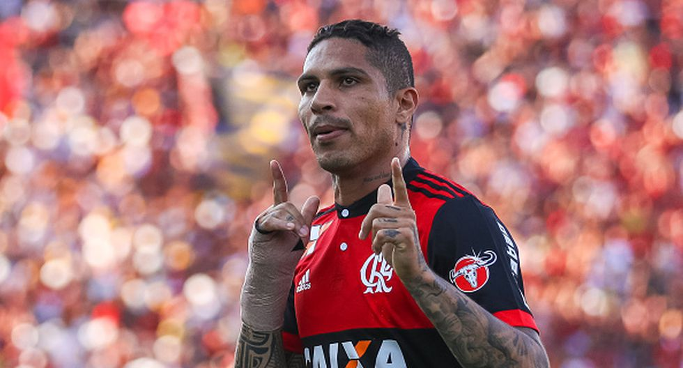 Tras cumplir su sanción de 6 meses, Paolo Guerrero podrá continuar defiendo la camiseta del Flamengo. (GETTY)