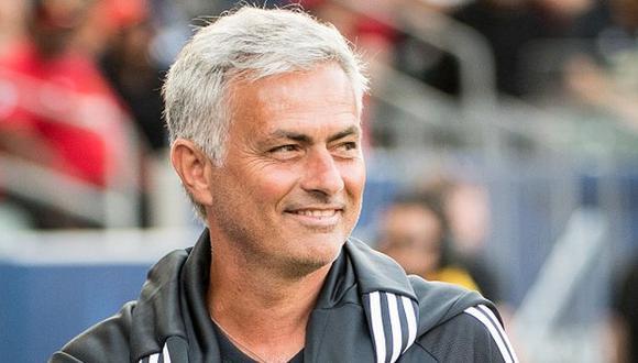 ´Mou´pudo llevarse la Europa League en su primera temporada con el Manchester United. (Gettyimages)