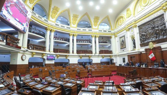 Por 49 votos a favor, 39 en contra y 31 abstenciones, la representación nacional aprobó la moción 11833. (Foto: Congreso)