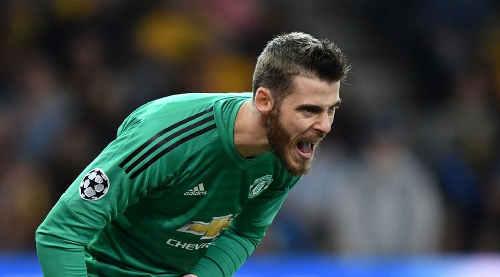 David De Gea / España/ Manchester United. (AFP)